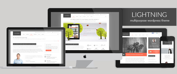 WordPress theme Lightning - Multipurpose Minimalist Theme (Corporate)